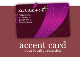 carte accent, your loyalty rewarded